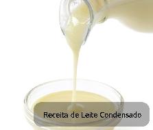 Receita de leite condensado caseiro