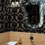 Os papéis de parede em estilo vitoriano também são muito elegantes (Foto: Divulgação)