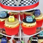Cupcakes do filme 'Carros'.  (Foto:Divulgação)