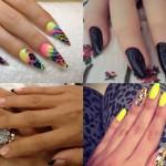 Muitas são as opções decores e desenhos que você pode criar em suas unhas (Foto: Divulgação)