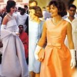 Vestidos de Jacqueline Kennedy. (Foto:Divulgação)