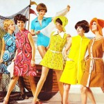 Os vestidos dos anos 60 eram mais curtos e coloridos. (Foto:Divulgação)