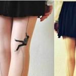Tatuagem ousada e criativa. (Foto:Divulgação)