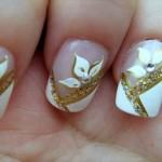 Nail Art explora brilho e textura. (Foto:Divulgação)