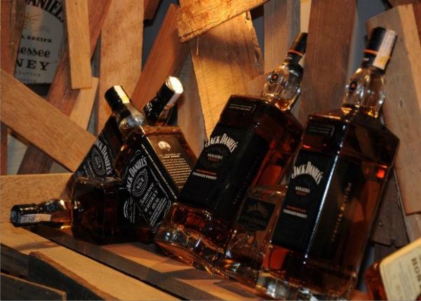 Festa inspirada no tema Jack Daniels. (Foto:Divulgação)