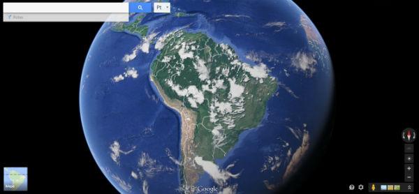 mapas google satelite