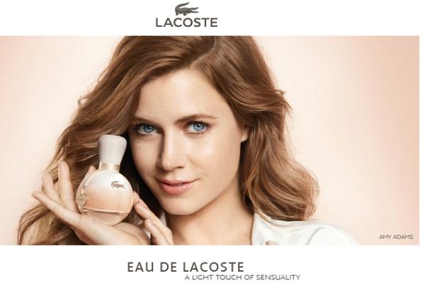 Amy Adams é o novo rosto da Lacoste (Foto: Divulgação)