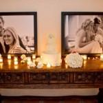 Os móveis e as fotos dos noivos podem ser explorados na decoração. (Foto:Divulgação)