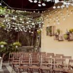 Ambiente em casa decorado para o casamento. (Foto:Divulgação)