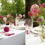 Mesas dos convidados decoradas. (Foto:Divulgação)