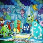 Vários monstros podem aparecer na decoração.  (Foto:Divulgação)