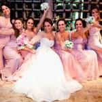 O lilás é uma das cores favoritas das damas de honra adultas.  (Foto:Divulgação)