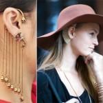 Ear Cuff: modelos, dicas, como usar