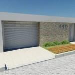 As fachas com muro aumentam a segurança e dão um diferencial à casa (Foto: Divulgação)