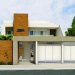 Essa também combina vários elementos entre a fachada e a casa (Foto: Divulgação)