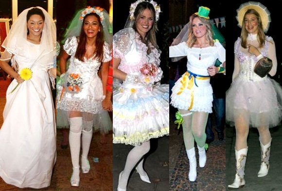 A noiva da festa junina deve ser a mais bela (Foto: Divulgação)