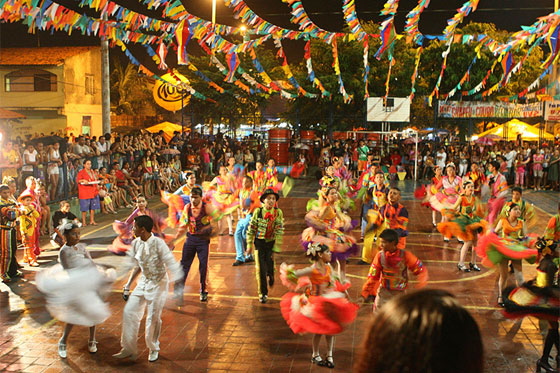 A programação da festa junina em Candelária é muito variada (Foto: Divulgação)