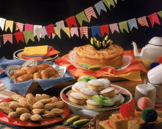A festa de São João de Candelária traz muitas comidas típicas (Foto: Divulgação)