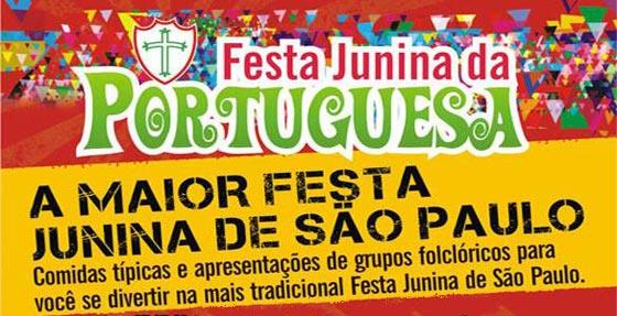 Festa Junina Portuguesa 2016 (Foto: Divulgação)