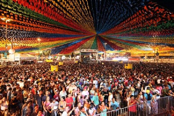 O Forro Caju é uma das maiores festas de São João no Brasil (Foto: Divulgação)