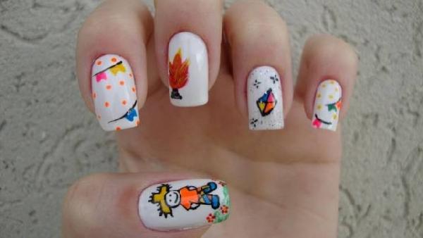 Nail art diferente (Foto:Divulgação)