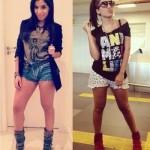 O shortinho curto deixa Anitta mais sensual.  (Foto:Divulgação)