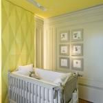 Escolha um cantinho para o bebê e pinte a parede. (Foto: divulgação)