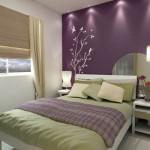 Adesivos de parede para quarto de casal: dicas, fotos