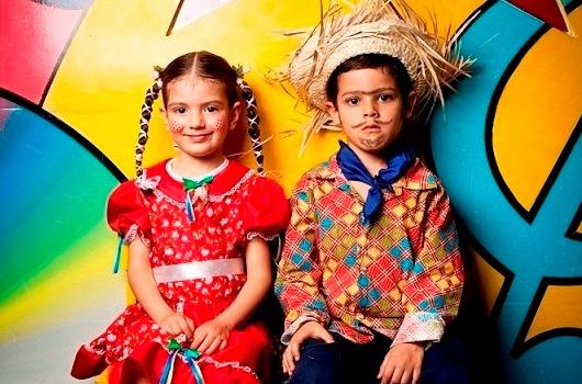 A maquiagem caipira não pode faltar nas festas juninas. (Foto: divulgação)