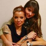 Julia Petit com sua filha Nina. (Foto:Divulgação)
