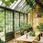 Jardim de inverno com plantas internas para conferir um aspecto mais natural à sua casa (Foto: Divulgação)