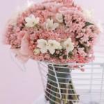 Um arranjo sem muita variedade de flores pode ser o que muitas mulheres procuram. (Foto: divulgação)