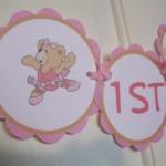O desenho da ursa bailarina pode aparecer na decoração.  (Foto:Divulgação)
