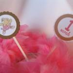 O tecido rosa lembra a saia da bailarina.  (Foto:Divulgação)