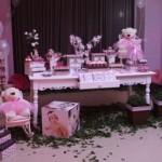 Mesa provençal decorada para a festa.  (Foto:Divulgação)