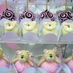 As cores rosa e branco combinam com a festa Ursa Bailarina.  (Foto:Divulgação)