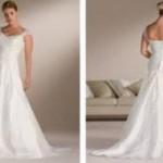 Os vestidos de noiva para evangélicas devem ser mais confortáveis. (Foto divulgação)