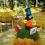 É possível criar vários tipos de enfeites de mesa. (Foto: divulgação)