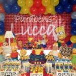 Uma festa com tema dos Simpsons é muito divertida. (Foto: divulgação)