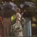 Luana Piovani se emocionou no seu casamento. (Foto:Divulgação)