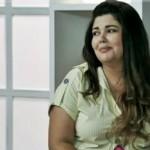 Fabiana Karla usa blusas de manguinha. (Foto:Divulgação)