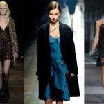 Slip dresses em grandes desfiles de moda (Foto: Divulgação)