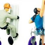 Até o alpinista inspira um porta-chaves. (Foto:Divulgação)