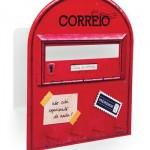 Porta-chaves de caixa de correio.  (Foto:Divulgação)