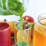 Sucos que combinam frutas, verduras e legumes