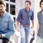 A camisa jeans é uma boa opção. (Foto:Divulgação)