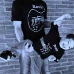 Camiseta de rock para pai e filho (Foto: Divulgação)
