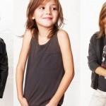 Regatinhas e jaquetinhas pretas dão o tom de rock aos pequenos (Foto: Divulgação)