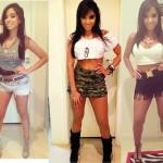 As pernas malhadas de Anitta sempre ficam em evidência. (Foto:Divulgação)