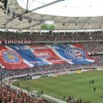 O Bahia voltou a atuar na Fonte Nova, após a reforma do estádio (Foto: Divulgação)